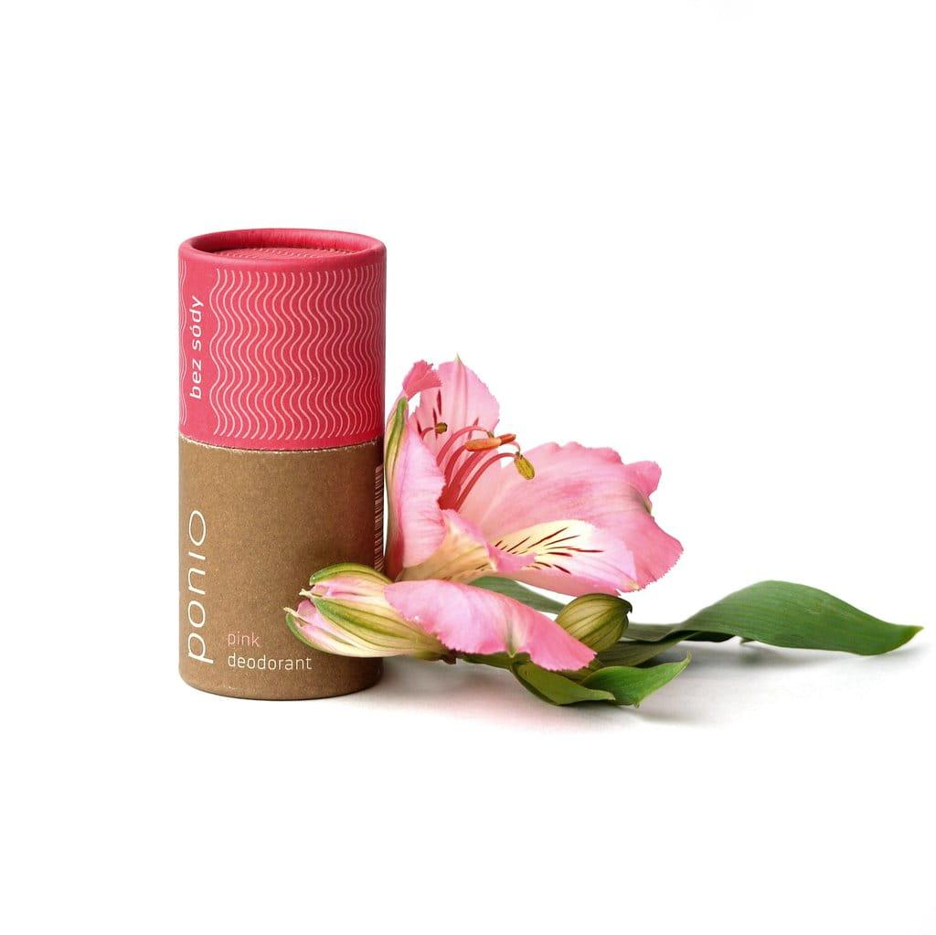 Ponio Naturalny dezodorant Pink (bez sody) 60g