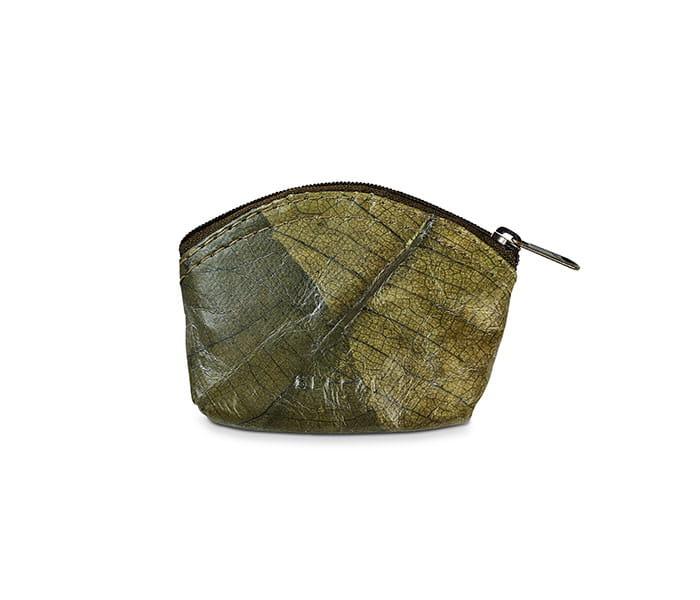 Beleaf Ekologiczna portmonetka MINI LEAF zielony